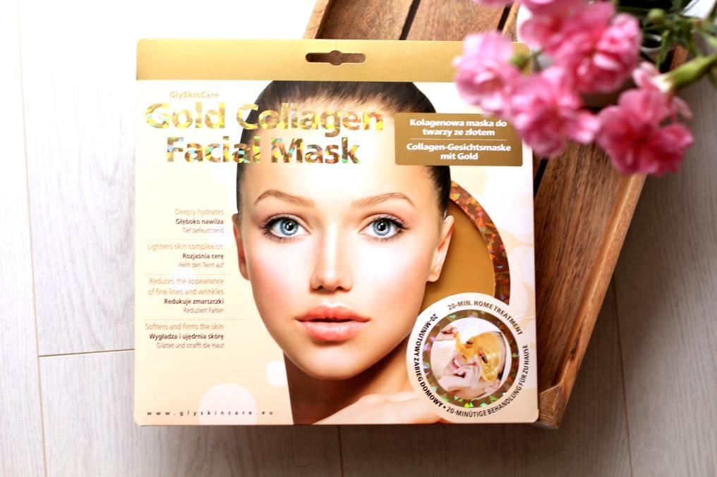 złota maska Gold Collagen od GlySkinCare
