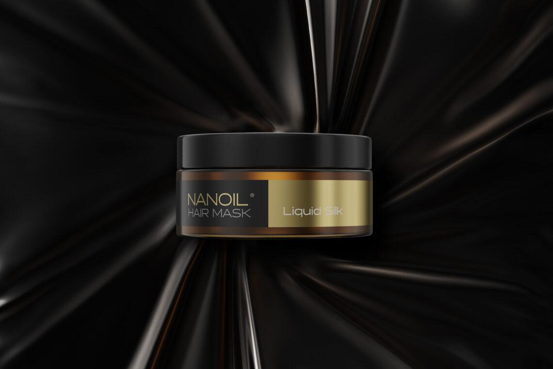 nanoil- maska do włosów z płynnym jedwabiem